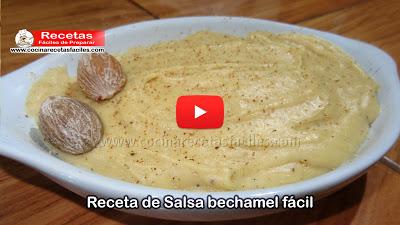 Una de las salsas más importantes de la cocina mundial es la Bechamel, que se emplea en multitud de platos de todas las gastronomías en general.