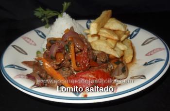 Lomo saltado peruano - Vídeo recetas de carnes