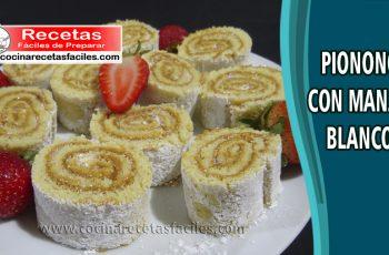 Pionono con manjar blanco - Vìdeo receta de postres y helados