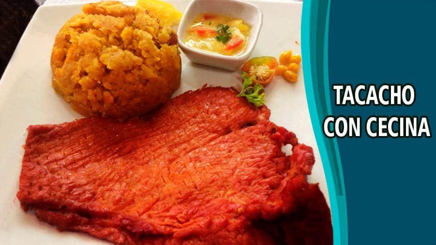 Tacacho con cecina - Recetas de carne de cerdo