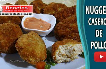 Nuggets de pollo caseros - Recetas de pollo fáciles