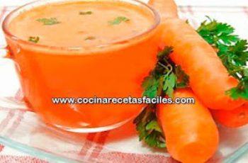 Receta de jugo de zanahoria y perejil - Bebidas para adelgazar