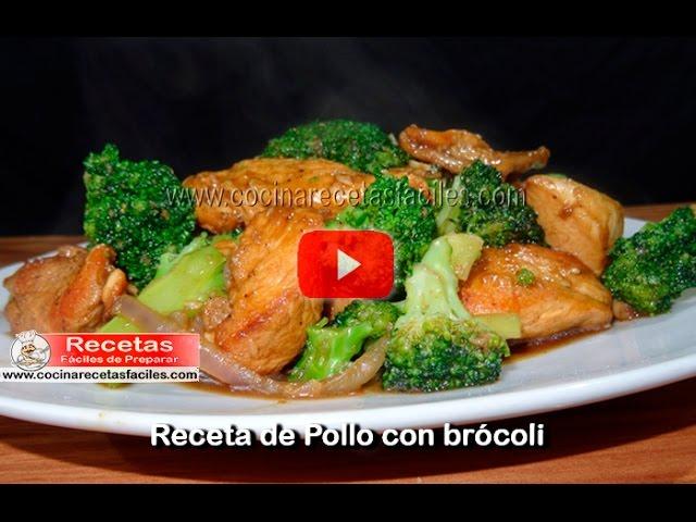 Pollo Con Brócoli Vídeos Recetas Caseras De Pollo