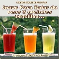▷ 3 jugos para bajar de peso de limón, papaya y melón
