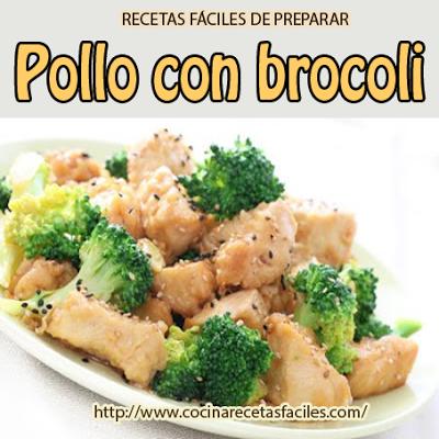 El pollo con brócoli , es un plato rico, practico, fácil de elaborar y ademas bajo en calorías. Por lo que no hay excusas para no disfrutar de este rico plato.