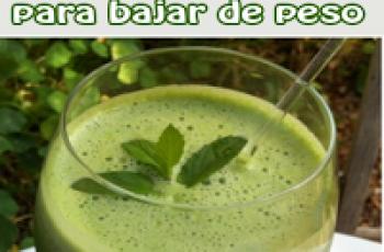 3 deliciosos jugos verdes para bajar de peso
