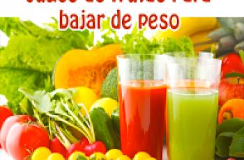 Jugo de frutas para bajar de peso