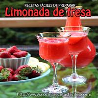 fresas,limones,agua,hielo,miel,azúcar