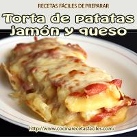 patatas,jamón,queso,mozzarella,aceite oliva,sal
