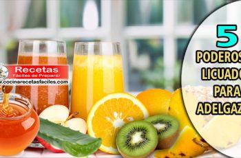 ▷ 5 poderosos licuados para adelgazar - Bebidas para adelgazar