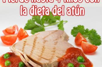Dieta del atún para perder 4 kilos en una semana - Recetas de dietas