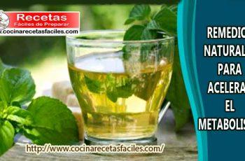 Remedios naturales para acelerar el metabolismo