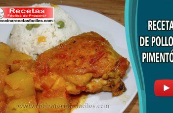 Pollo al pimentón - Vídeo recetas caseras de pollo