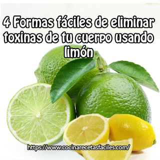 4 formas fáciles de eliminar toxinas usando limón✅Si quieres limpiar tu cuerpo usarás un ingrediente poderoso que elimina toxinas del cuerpo. Uno de los más deliciosos y versátiles es el limón.
