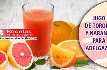 Jugo de toronja y naranja para adelgazar - Bebidas para adelgazar