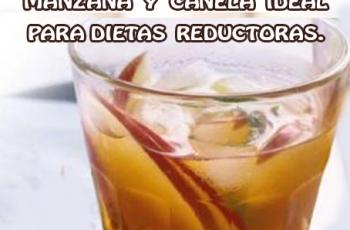 Agua para desintoxicar de manzana y canela ideal para dietas