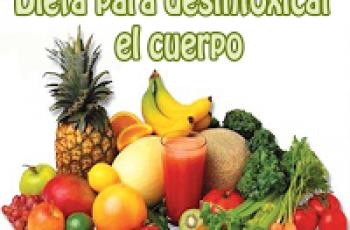 Dieta para desintoxicar el cuerpo - Recetas y consejos de dietas