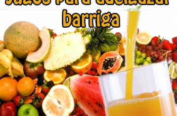 Jugos para eliminar la grasa de la barriga - Bebidas para adelgazar