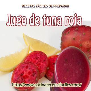 Receta de jugo de tuna roja✅especial para personas que sufren enfermedades coronarias. fácil de preparar, alto en fibra, bajo en azúcar y buen laxante.