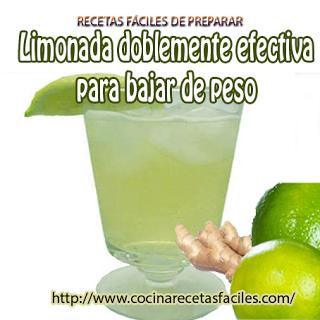Receta de limonada doblemente efectiva para bajar peso - Que cenar para perder peso rapido ...