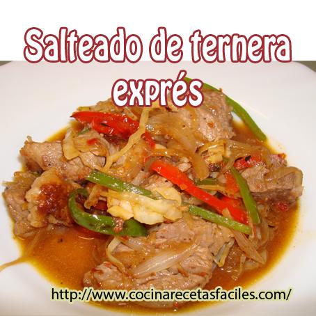 carne,col,pimiento,cebolleta,jengibre,salsa,ajo, guindilla