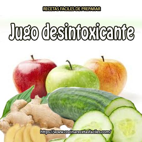 Receta de Jugo desintoxicante✅que combina sabiamente las bondades del apio, pepino, zanahoria, manzanas, jengibre y limón, además de ser desintoxicante, es una maravilla para nuestro organismo.