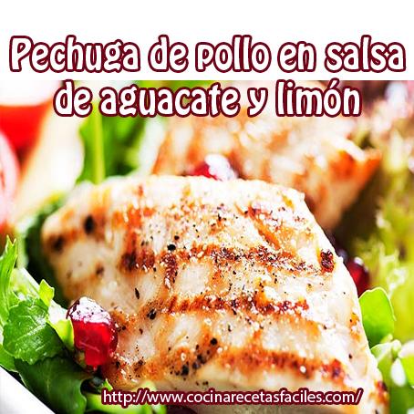 pollo,aceite,sal,pimienta,aguacate,cilantro, chile,limón