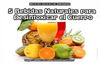5 Bebidas naturales para desintoxicar el cuerpo✅limpia los residuos químicos, purifica la sangre y restaura su sistema digestivo a su máxima capacidad.