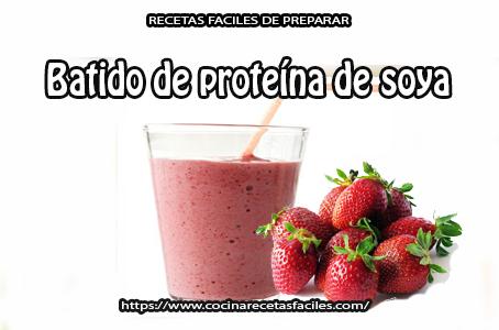 fresa,proteína soya,linaza,avena