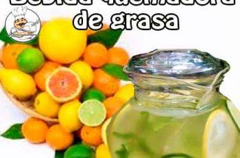 Bebida de frutas quemadora de grasa - Bebidas para adelgazar