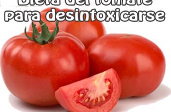 Dieta del tomate para desintoxicarse - Recetas de dietas