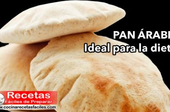 Pan árabe, ideal para la dieta - Recetas dietéticas para adelgazar