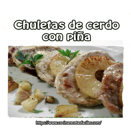 cerdo,piña,caldo carne,ajo,laurel,perejil,vino