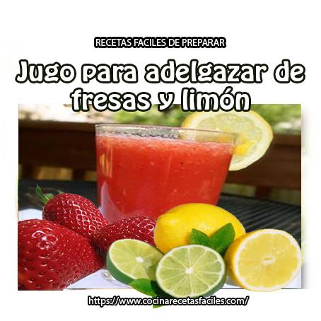 fresas,limón,toronja,miel
