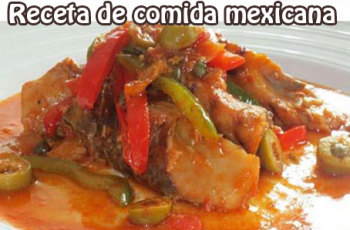 Bacalao a la vizcaína - Receta casera de Comida Mexicana