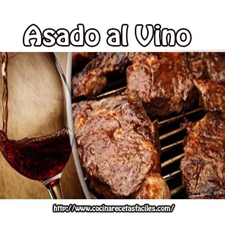 Asado al vino