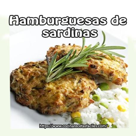Recetas de hamburguesas de pescado