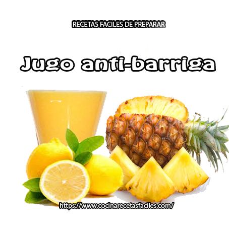 limón,linaza,piña,miel,agua