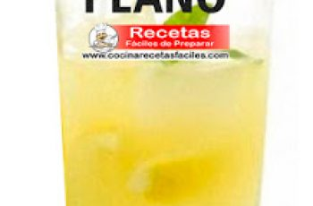 Limonada especial para vientre plano - Bebidas adelgazantes