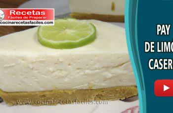 Receta de Pay de limón casero sin horno - Vídeo de postres y helados