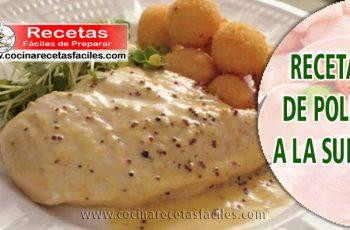 Receta de pollo a la suiza - Recetas caseras de pollo