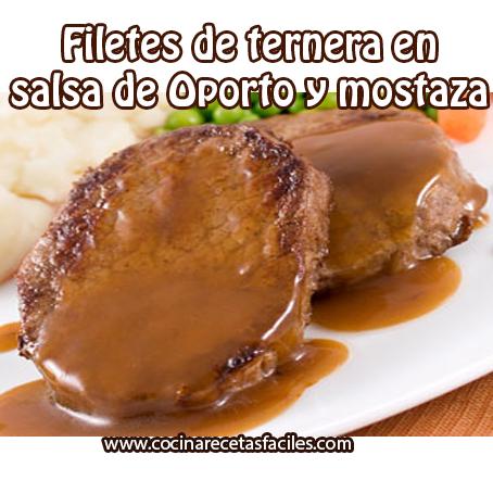 Filetes de ternera en salsa de oporto y mostaza recetas - Filetes de ternera en salsa de cebolla ...