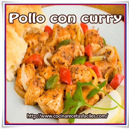 Aves, pollo, curry, receta de pollo ,pollo con curry