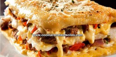Recetas de pastas y lasagnas,