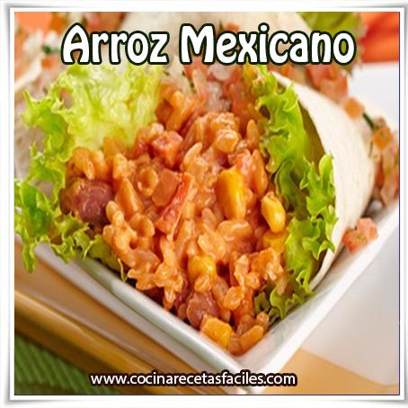 Recetas de arroz,  arroz mexicano