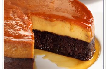Pastel imposible sin horno en Olla Express - Recetas de tortas y pasteles