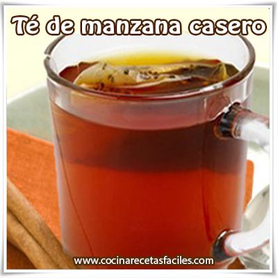 Receta de Té de manzana casero✅Los que gusten de preparar distintos tipos de té, en especialmente los caseros, aquí les dejamos una receta muy sencilla de té de manzana casero.