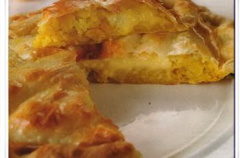 Tarta de cebolla bien fácil yrápida de realizar - Recetas de tartas