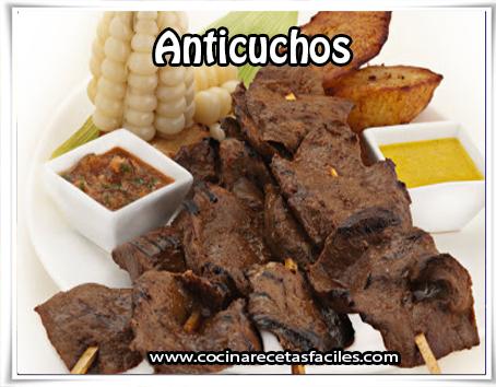 Anticuchos peruanos - Recetas peruanas