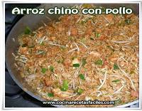 Recetas de arroz , arroz chino con pollo